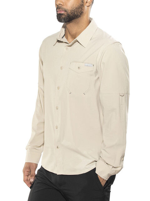 Columbia Triple Canyon Solid Long Sleeve Shirt Men fossil